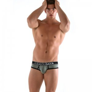 Roberto Lucca Contrast Brief Underwear Army Green RL140W018-00649