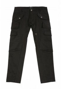 Spy Henry Lau Multi Pocket Cargo Slim Cut Pants Black SP788AA83NWYHK