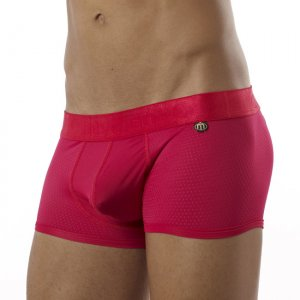 Intymen Sports Block Boxer Brief Underwear Red 6144