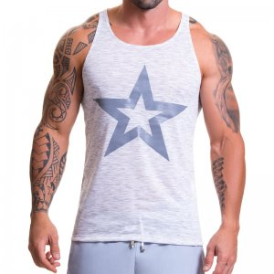 Jor BLISS Tank Top T Shirt Grey 0609