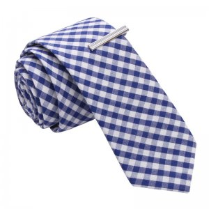 Skinny Tie Madness Andre Could Lift a Car Gingham Plaid Skin...