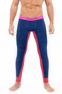 Narciso Long Johns Long Underwear Pants BOXER 099 MARMO BLUE