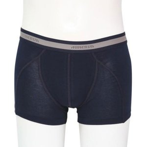 Minerva Micro Cotton Boxer Brief Underwear Navy 21010