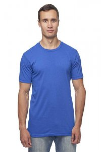 Royal Apparel Unisex Recycled Jersey Short Sleeved T Shirt Recycle Royal 65051