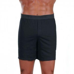 Lord Opening Loose Boxer Shorts Underwear Black 1532