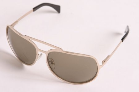 Diluca Eyewear Sunglasses Precious Metals Luca Gold/Champagne GLD001