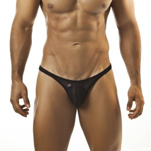 Joe Snyder Capri Bikini 07 Mesh Black Underwear & Swimwear