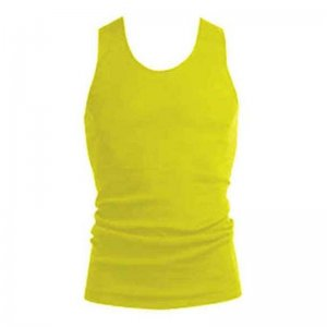 [2 Pack] Bonds Hi Visibility Chesty Tank Top T Shirt Yellow M192