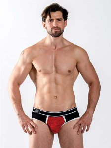 Mister B Urban Castro Brief Underwear Red/Black 821830
