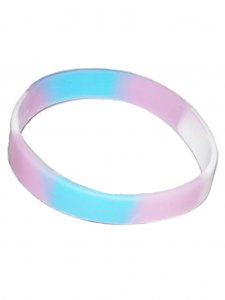 DBE Trans Silicone Armband