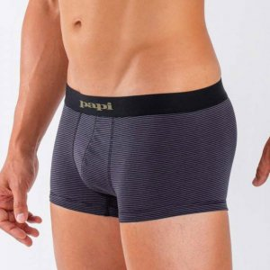 Papi [3 Pack] Cotton Stretch Brazilian Trunk Underwear 980533-967