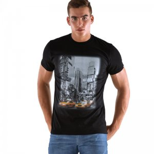 Roberto Lucca NYC Short Sleeved T Shirt Black RL-219-00020