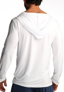 N2N Bodywear Dream Hoodie Loungewear White L5