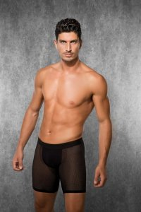 Doreanse Mesh Boxer Brief Underwear Black 1850