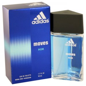 Coty Adidas Moves Eau De Toilette Spray 1.7 oz / 50.3 mL Fra...
