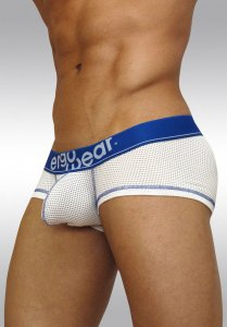 Ergowear Max Mesh Boxer Brief Underwear White/Blue