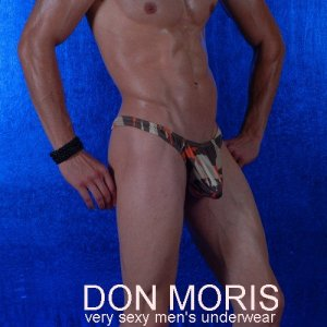 Don Moris Camouflage Thong Underwear DM080822