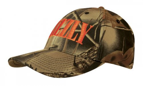 Headwear Professional 6 Panel BC Forest Print Camo Cap 4028