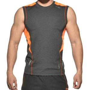 Private Structure Momentum Training Muscle Top T Shirt Dark Melange MGMT3469BT