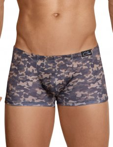 Clever Graciano Camo Latin Boxer Brief Underwear Black 2421