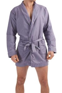 L'Homme Invisible Chill Out Dressing Gown Loungewear Lavende...