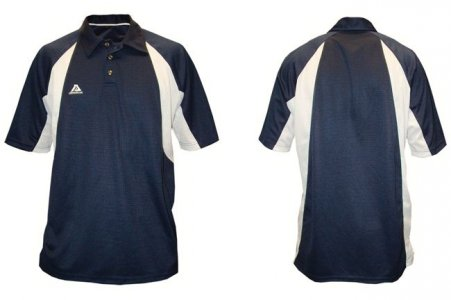 Akadema Sport Polo Short Sleeved Shirt Navy SPOLO