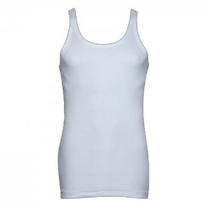 Minerva [2 Pack] Classic Eco Vest Muscle Top T Shirt White 10902