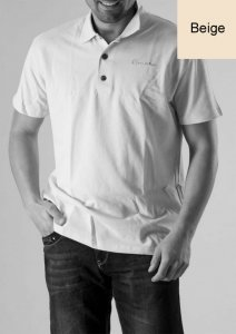 Geronimo Polo Short Sleeved Shirt Beige 277