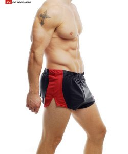 Go Softwear Hard Core Dungeon Shorts Black/Red 4102