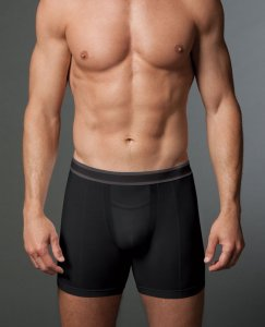 SPANX For Men Cotton Comfort Boxer Brief Underwear Black 620