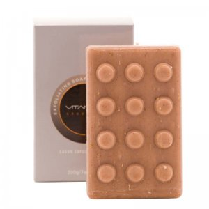 VitaMan Exfoliating Soap With Patchouli, Cinnamon & Sandalwo...