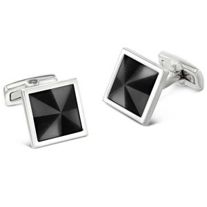 Duncan Walton Masson Cufflinks Grey C2802