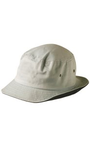 Winning Spirit Enzymes Washed Bucket Hat With Contrast Trim CH32A