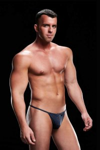 Envy Low Rise G String Underwear Navy E072