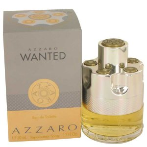 Azzaro Wanted Eau De Toilette Spray 1.7 oz / 50.27 mL Men's ...