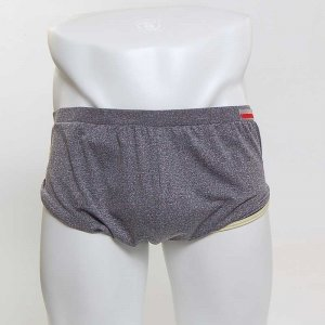 MIIW Comfortable Loose Boxer Brief Underwear Heather 8019-11