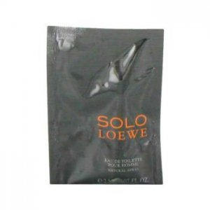 Loewe Solo Vial (Sample) 0.07 oz / 2 mL Men's Fragrance 465113