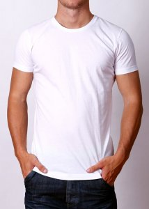 By The People Premium Basic Short Sleeved T Shirt White