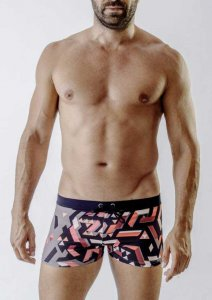 Geronimo Square Cut Trunk Swimwear 1719B1-3