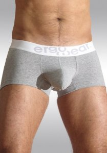 Ergowear Max Premium Boxer Brief Underwear Heather/White EPMP06G