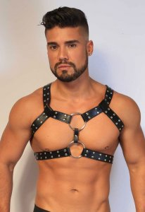 Kristen Bjorn Faux Harness II Black