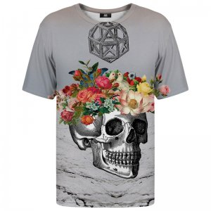 Mr. Gugu & Miss Go Skull Unisex Short Sleeved T Shirt TSH407