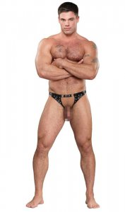 Male Power Artemis Thong Underwear Black PAK-145