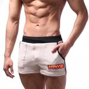 MIIW Cotton Sport Shorts Beige 4701-01
