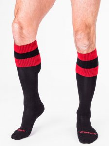Barcode Berlin [3 Pack] Football Socks Black/Red 90143-103