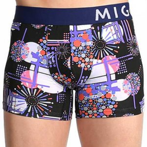 MIGO Fireworks Boxer Brief Underwear Black