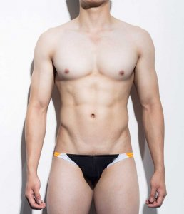 Mategear Kal Yong Mini Bulge Bikini Swimwear Black 1081203