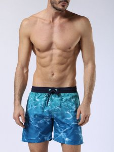 Diesel Water Print Shorts Swimwear