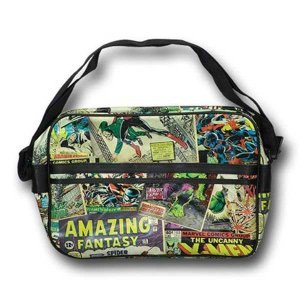 Marvel Amazing Fantasy Comics Messenger Bag