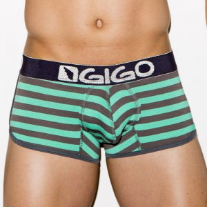 Gigo SAILOR GREEN Short Boxer Underwear G02116